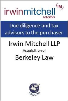 Deal Hawsons advises Irwin Mitchell on acquisition of Berkeley law