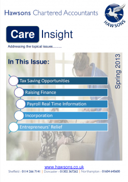 Care home Spring 2013 sector newsletter