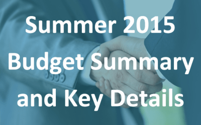 Summer 2015 Budget summary and key details