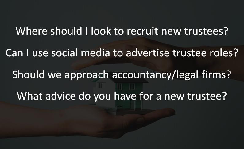 FAQ: A guide to trustee recruitment