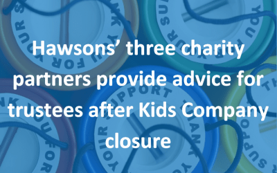Q&A: Lessons for trustees after Kids Company closure