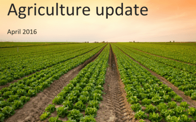 Agriculture update for UK farmers – April 2016