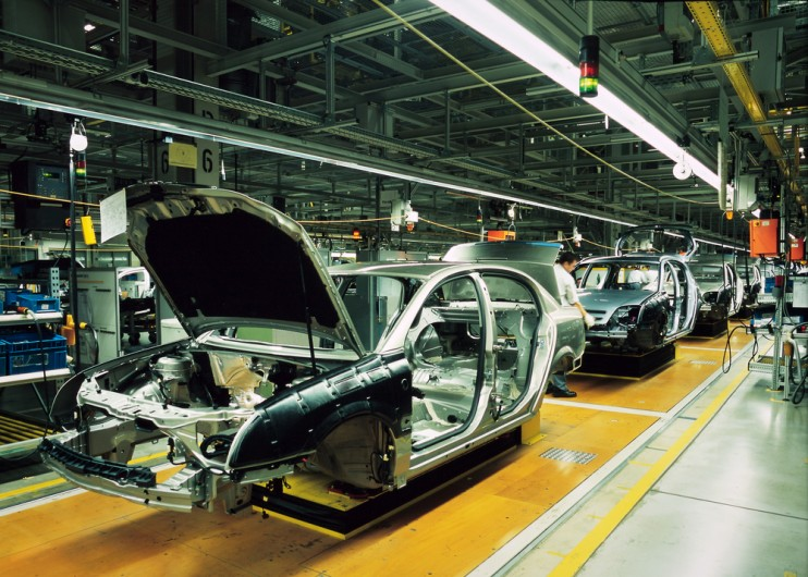 Car production falls at fastest rate in UK for more than two and a half years