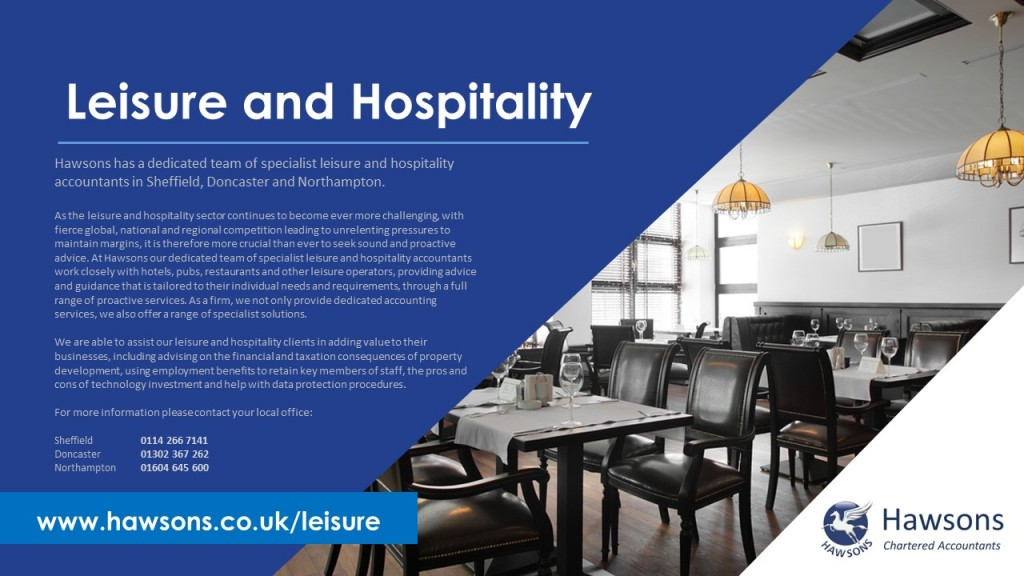 Leisure and hospitality accountant services PDF