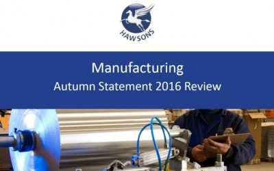 Manufacturing Autumn Statement 2016 review
