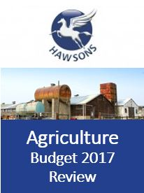 Agriculture 2017 budget