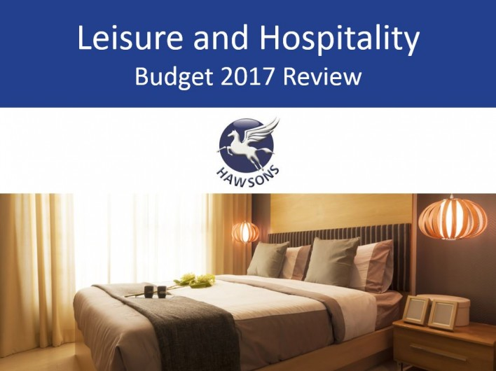 Leisure & Hospitality 2017 Budget review and analysis